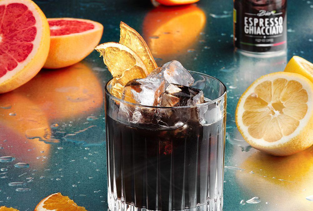 Cocktail analcolico all'arancia